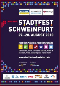Stadtfest-Flyer