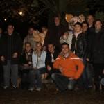 Mitglieder und Freunde der JU mit Wildparkleiter Thomas Leier
