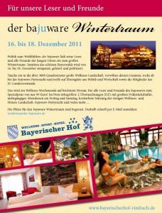 Flyer zum JU-Wintertraum