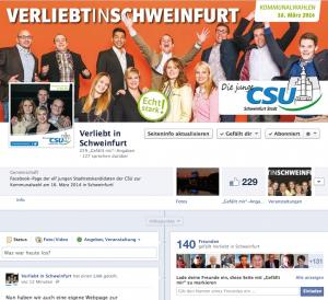 Unsere neue Facebook-Page
