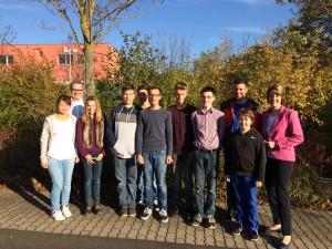 Das Team der neuen Schüler Union Schweinfurt